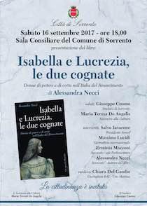 A Sorrento si presenta l'ultimo libro di Alessandra Necci