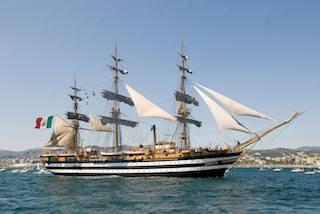 L'amerigo Vespucci torna a Castellammare di Stabia, sarà possibile visitare la nave