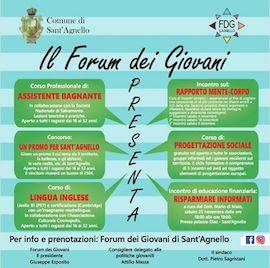 Corsi e concorsi con il Forum dei Giovani di Sant'Agnello