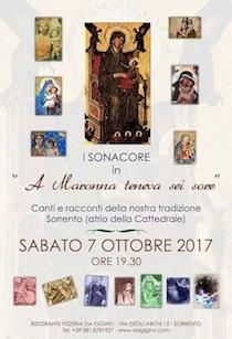A Sorrento si celebra la devozione alle 7 Madonne sorelle