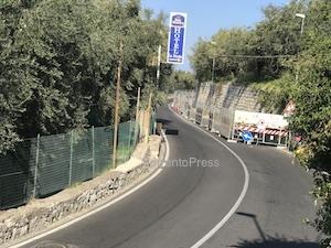 Muro di via Capo, lavori fermi e disagi per la mobilità