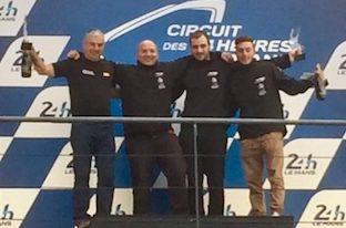 Grande affermazione a Le Mans per il pilota della costiera Michele Esposito