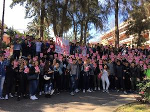 Corteo di 800 studenti della costiera contro le carenze delle scuole
