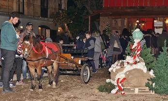 A Villa Fiorentino la mostra dei presepi ed il Villaggio di Babbo Natale