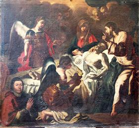 """Crowdfunding, a Sorrento restaurato il quadro """"La morte di San Giuseppe"""""""