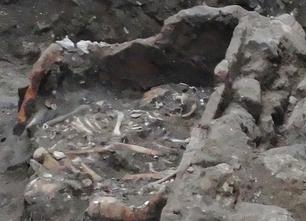 Reperti romani rinvenuti durante i lavori di restyling del corso Italia
