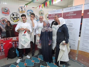 """Gli chef dell'Istituto """"San Paolo"""" nei campi profughi in Giordania"""