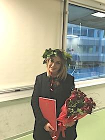 Per la nostra collaboratrice Francesca Vanacore arriva la laurea magistrale