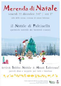 A Massa Lubrense arrivano Babbo Natale e Pulcinella
