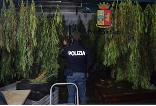Droga, arrestato 40enne originario di Vico Equense – foto e video –