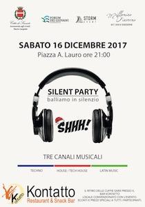 A Sorrento torna l'appuntamento con la silent disco