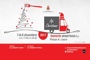 Tutto pronto per la seconda edizione del Sorrento Street Food Village