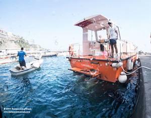 Lotta ai rifiuti in mare, il Parco di Punta Campanella in prima linea – video –