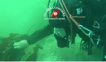 Scarichi illegali in mare, più controlli dei sub della Capitaneria