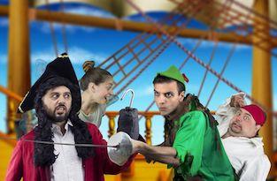 """Domani al Teatro Tasso """"Arriva Peter Pan"""""""