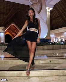 La bella sorrentina Francesca Tizzano conquista il Messico – foto –