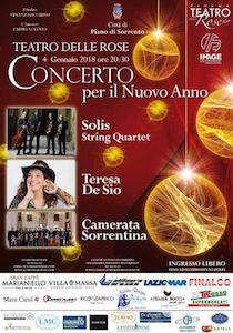 Al Teatro delle Rose il Concerto per il Nuovo Anno