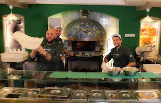 Da Basilico Italia serata con pizza, sigaro Toscano e grappa