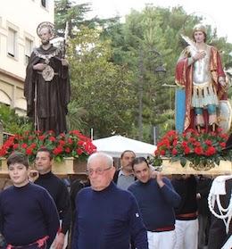 Oggi la processione per la festa dei santi Ciro e Giovanni a Vico Equense