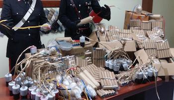 Botti illegali, un arresto a Vico Equense – foto –