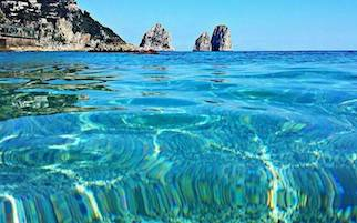 L'Area marina protetta di Capri fuori dalla legge di Stabilità, proteste dall'isola