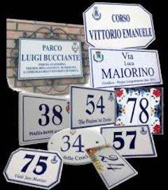 Nomi delle strade e numeri civici, 80mila euro per la revisione
