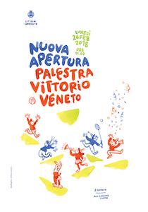 """Lunedì l'inaugurazione della palestra della scuola """"Vittorio Veneto"""""""