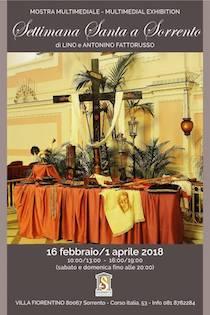 Apre a Villa Fiorentino la mostra multimediale Settimana Santa a Sorrento