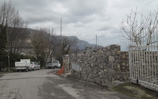 Un muro al posto del belvedere, denuncia del Wwf