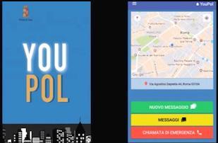 """Presentata l'app per le segnalazioni alla polizia """"You Pol"""" – video –"""
