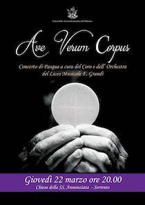 """Alla chiesa dell'Annunziata il concerto di Pasqua del """"Grandi"""""""