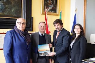 Delegazione dell'Ambasciata argentina al Comune di Sorrento