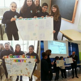 Gli studenti di Massa Lubrense celebrano la Giornata Mondiale dell'Acqua