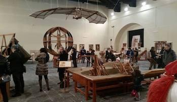 A Sorrento in mostra le invenzioni di Leonardo da Vinci
