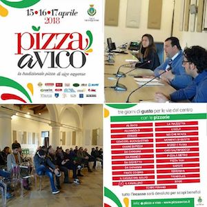 """Pizza a Vico"", l'incasso interamente devoluto in beneficenza"