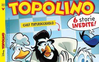 Chef Cannavacciuolo protagonista di una storia a fumetti su Topolino