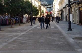 Lavori al corso Italia, stop alle sanzioni per occupazioni abusive