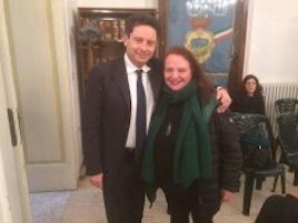 Elezioni Sant'Agnello: Il segretario del Pd Lucia Gargiulo in campo con Sagristani
