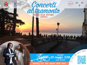 """In piazza della Vittoria la rassegna """"I concerti al tramonto"""""""