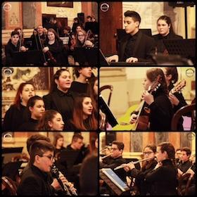 """Concerto-gemellaggio tra il liceo """"Grandi"""" ed una scuola degli Usa"""