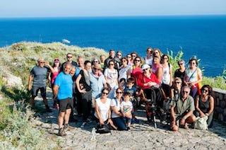 Gita a Punta Campanella per una disabile grazie ai volontari – foto –