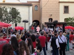 Ieri sera a Sorrento il flash mob contro la violenza di genere – foto e video –