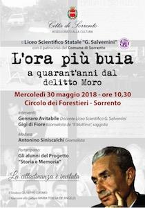 A Sorrento gli studenti ricordano Aldo Moro
