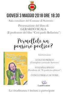 A Sorrento si presenta il libro di Gerardo Scala
