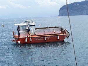 Weekend dedicato alla pulizia del mare di Marina Piccola
