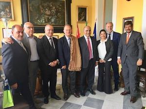 A Sorrento visita di delegazione argentina nel segno del limone