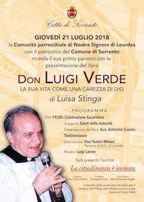 A Sorrento una giornata per ricordare don Luigi Verde