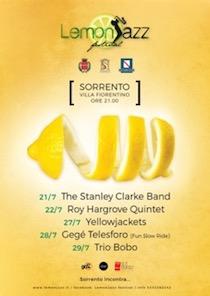 A Villa Fiorentino arriva il Lemon Jazz 2018