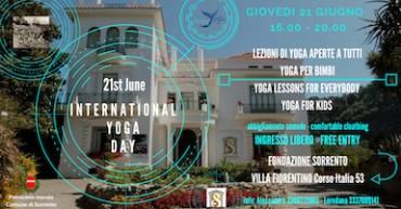 A Villa Fiorentino lezioni di Yoga gratuite