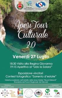 Torna l'AperiTour Culturale del Forum dei Giovani di Sorrento